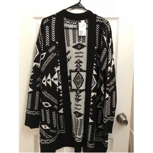 H&M - Jacquard-knit Cardigan